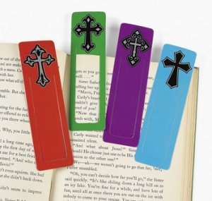 Cross Bookmarks - Pack of 24