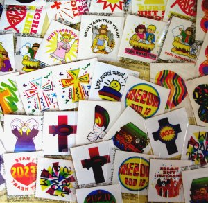 Christian Fund Raising Tattoo Pack:  60 tattoos