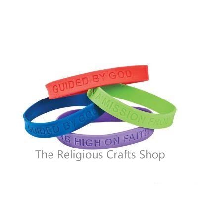 Adventure Inspirational Rubber Bracelet - 1 unit