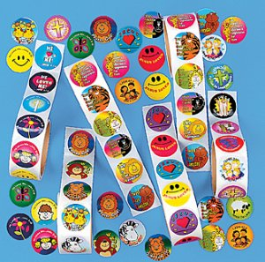 Religious Stickers - mega 100 pack