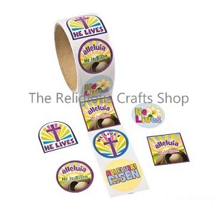 Christian and religious crafts supplies and gift for sunday easter christian stickers pack of 50 negle Image collections