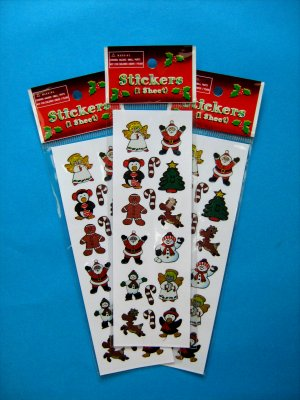 Christmas Prism Sticker Selection 2 - 1 sheet