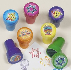 Hanukkah stamps - 6 pack