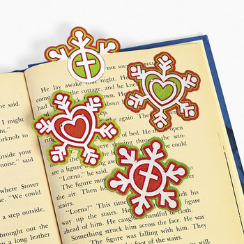 Peace on Earth Plastic Bookmark - 1 item