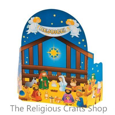 Nativity Build a Scene 3D Advent Calendar