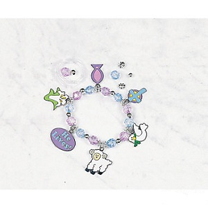Easter Inspirational Charm Bracelet Craft