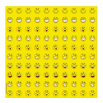 Mini Cute Smiley Face Stickers - sheet of 50