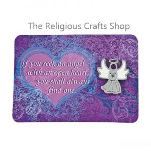Angel Brooch with a Gift Card: 1 unit