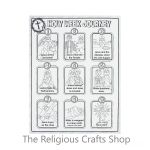 Poster Pack: Colour Your Own Holy Week Poster: Pack of 10