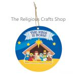 Nativity Hanging Sticker Scene:  1 Unit